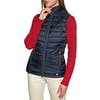 Barbour Deerness Womens Body Warmer - Navy Marigold