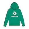 Converse Stacked Wordmark Fleece Kids Pullover Hoody - Bold Jade