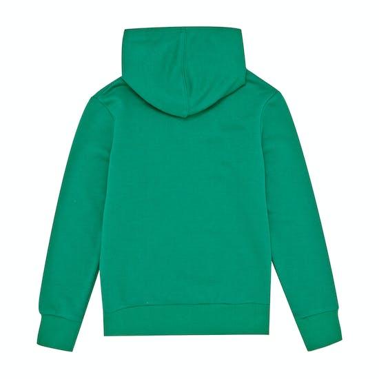 Converse Stacked Wordmark Fleece Kids Pullover Hoody