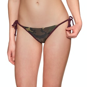 Fox Racing Grand Rapids Camo Side Tie Bikini Bottoms - Camo