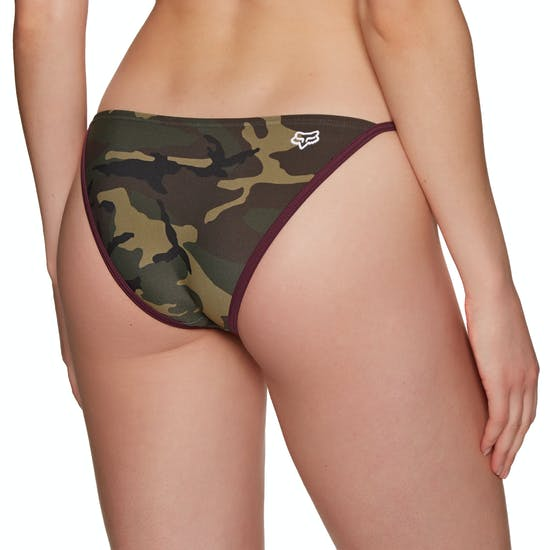 Pieza inferior de bikini Fox Racing Grand Rapids Camo Side Tie