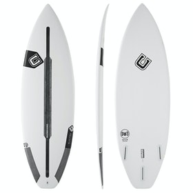 Clayton DV3 Spine-Tek Futures Thruster Surfboard - White