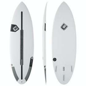 Clayton The Egg Spine-Tek Futures Thruster Surfboard - White
