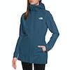 North Face Hikestellar Parka Shell Womens Jacket - Blue Wing Teal