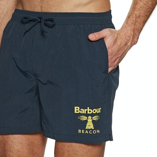 Barbour Beacon Logo Swim Shorts