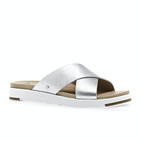 Sliders UGG Kari Metallic - Silver