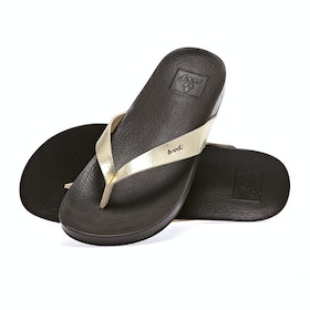 Reef Cushion Bounce Court Womens Sandals - Champagne