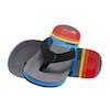 Reef Ahi Kids Sandals - Grey Pinstripes