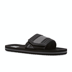 Reef Ahi Kids Sliders - Black