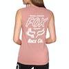Camiseta sin mangas Mujer Fox Racing Worldwide - Blush