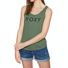 Roxy Red Lines A Ladies Tank Vest