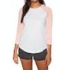 Element Edge Womens Long Sleeve T-Shirt - Peach