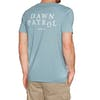 Camiseta de manga corta Surf Perimeters The Dawn Patrol Casual - Citadel Blue