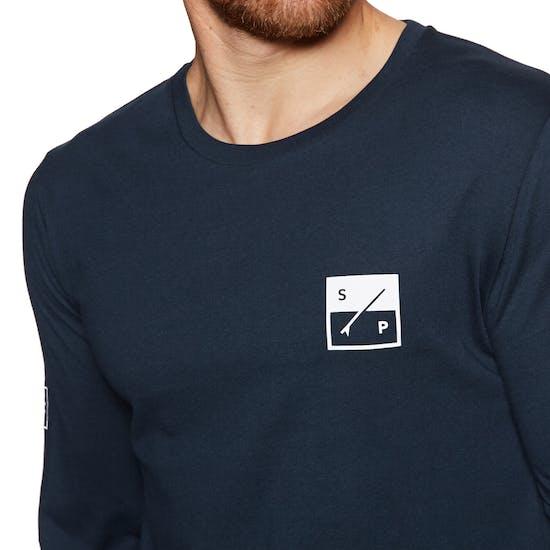 Camiseta de manga larga Surf Perimeters The Element Organic