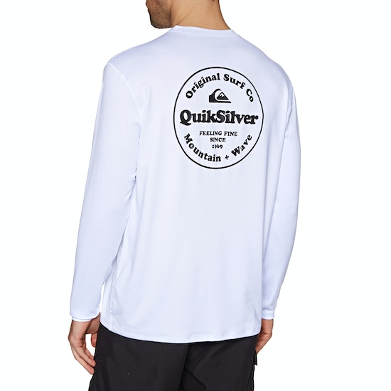Quiksilver King Tide Long Sleeve UPF 50 Surf T-Shirt