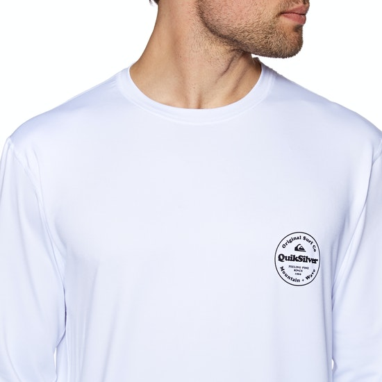 Quiksilver King Tide Long Sleeve UPF 50 Surf T-Shirt