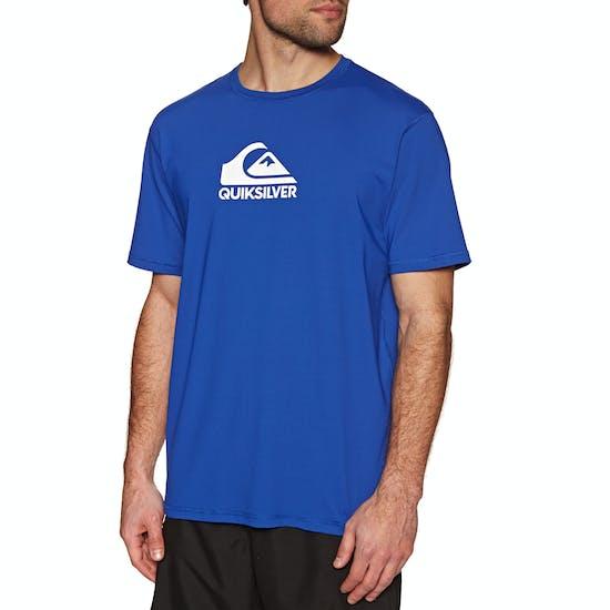 Quiksilver Solid Streak Short Sleeve UPF 50 Surf T-Shirt
