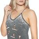 Hurley Log Days Burn Out Womens Tank Vest