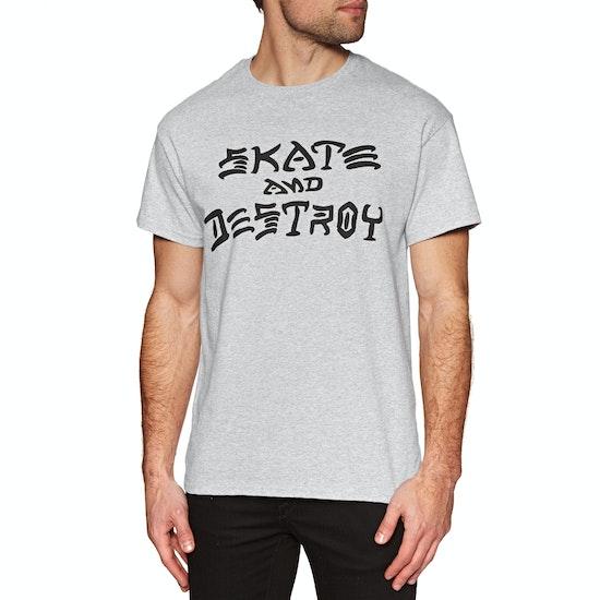 Thrasher Skate & Destroy Short Sleeve T-Shirt