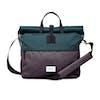 Sandqvist Tor Backpack - Multi Deep Green Dark Grey Black Leather