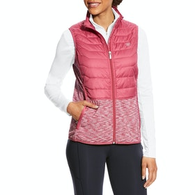 Ariat Capistrano Ladies Gilet - Rose Violet