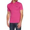 Barbour Beacon Cotton Polo Shirt - Fuchsia