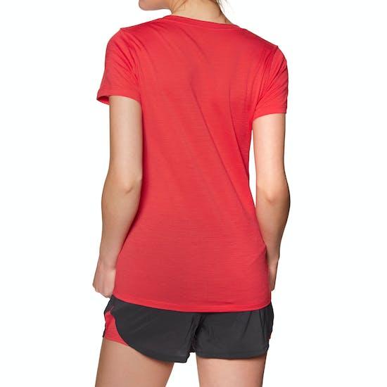 T-Shirt à Manche Courte Femme Icebreaker Tech Lite Scoop Plume