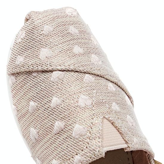 Toms Classic Alpargata Kids Slip On Shoes