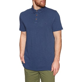 Quiksilver Everyday Sun Polo Shirt - Medieval Blue