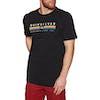 Quiksilver Get Bizzy Short Sleeve T-Shirt - Black