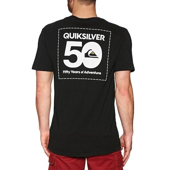 Quiksilver The Label Short Sleeve T-Shirt