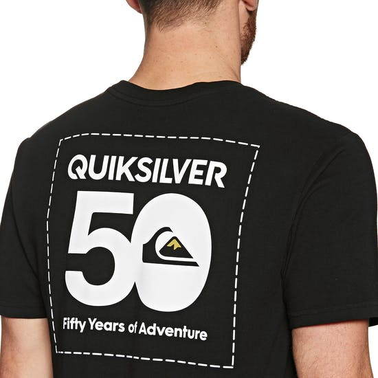 Quiksilver The Label Short Sleeve T-Shirt