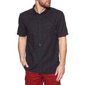 Quiksilver Time Box Short Sleeve Shirt - Black