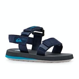 Quiksilver Monkey Caged Kids Sandals - Blue/grey/blue