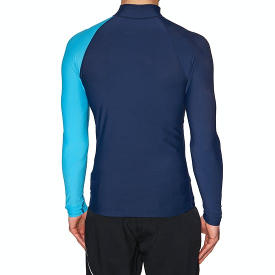 Billabong Contrast Long Sleeve Mens Rash Vest