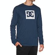DC Square Star Langarm-T-Shirt