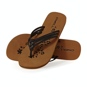 Sandales O'Neill 3 Strap Disty - Black Out