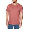 T-Shirt à Manche Courte Rip Curl Organic Plain Pocket - Brick