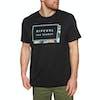 T-Shirt à Manche Courte Rip Curl Pro Model - Black