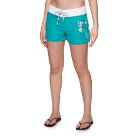 Animal Fianno Womens Boardshorts - Capri Blue
