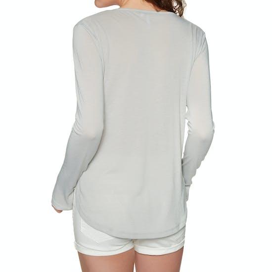 Animal Oval Womens Long Sleeve T-Shirt