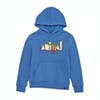 Animal Ryder Boys Pullover Hoody - Seaport Blue