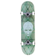 Enuff Geo Skull 8 Inch Complete Skateboard