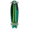 Mindless Rogue Swallow Tail 34 Inch Longboard - Green