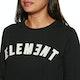 Element Logo Crew Fleece Womens Sweater