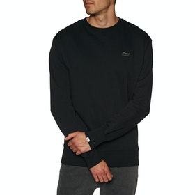 Deus Ex Machina Standard Conner Crew , Genser - Black