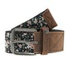 Animal Shaded Womens Synthetic Belt - Black