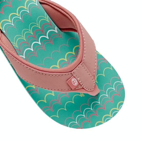 Animal Swish Aop Girls Kids Sandals