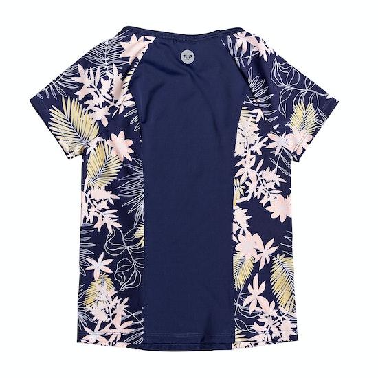 Roxy Short Sleeve UPF 50 Girls Rash Vest
