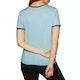 T-Shirt de Manga Curta Senhora Rip Curl Hula Moon Ringer